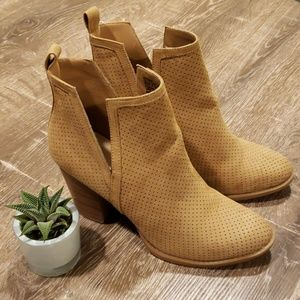 JustFab Messina Perforated Bootie